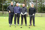 Darlington (L-R) Kevin Smith, Kevin Stonehouse, Neil Maddison, Mark Maddison