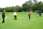 Sunderland team on the 5th green